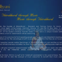 Thirukkural Through Music